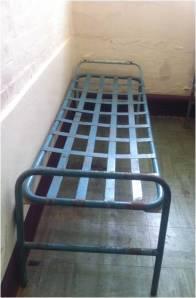 prison bed