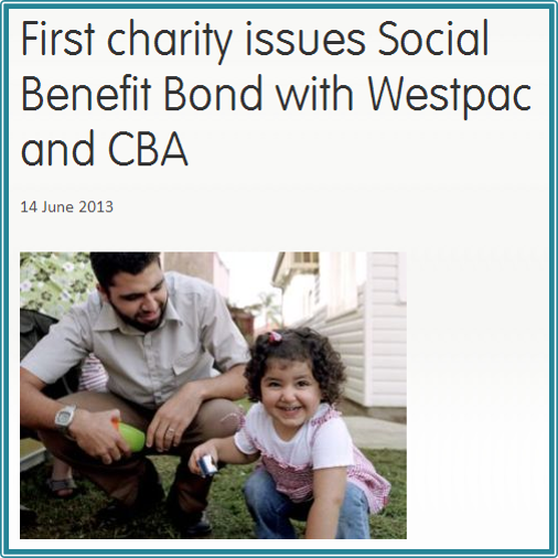 Benevolent Society Social Benefit Bond