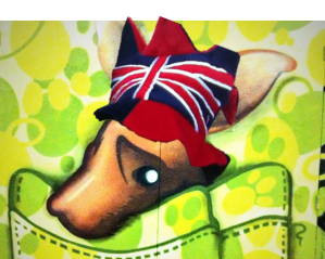 roo in UK hat