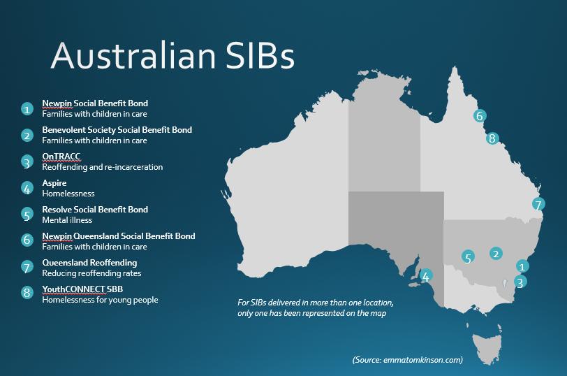 Aussie SIB map
